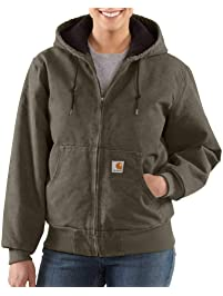 fefc6ffcdeae Carhartt Women s Lined Sandstone Active Jacket WJ130