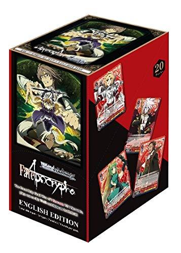 Weiss Schwarz En Fate Apocrypha Booster Box English