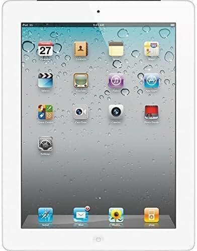 Apple iPad MD329LL/A (32GB, Wi-Fi, White) 3rd Generation (Certified Refurbished)