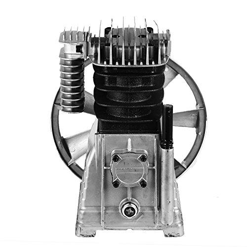 Mophorn air compressor pump 3kw piston type air compressor for Piston type air motor
