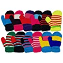 Amazon.com: Toddlers Winter Mittens, 12 Pairs, Cute