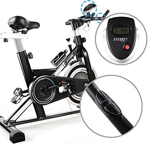 L Now Indoor Cycling Bike Trainer With Monitor Ld 506