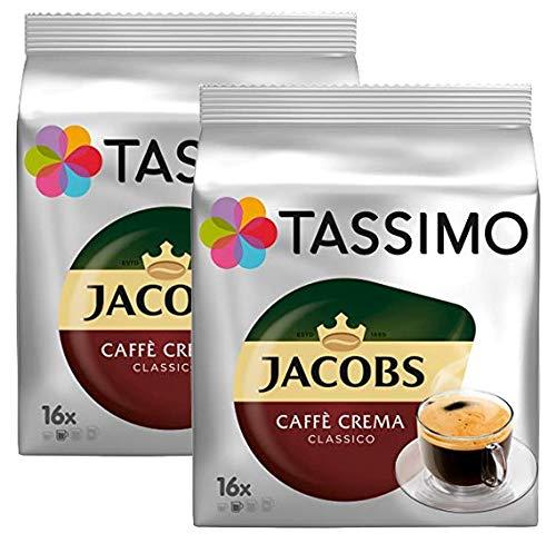 Tassimo Jacobs Caffé Crema Classico (16 servings) (Pack of 2)