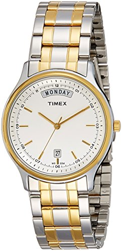 Timex Analog White Dial Men #39;s Watch TW0TG5909