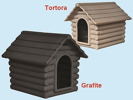 Caseta para perro Rifugio Grafito Media cm. 76 x 95 x 71h
