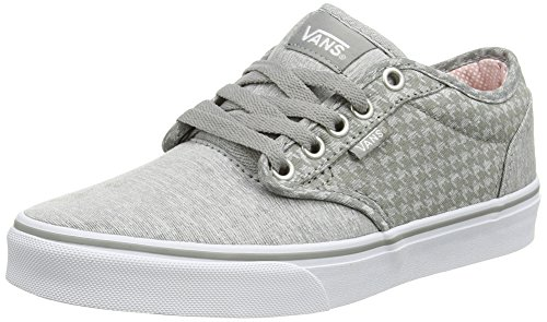 Vans ATWOOD - Zapatillas de lona para mujer Gris (Menswear - Midgray/White)