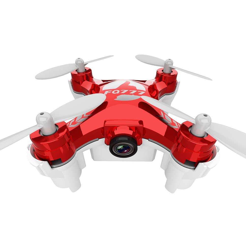 WQGNMJZ Remoto Drone FQ777-954D Drone Aéreo WiFi Altura Fija Mini Aviones Portátiles De Juguete para Niños HD Cámara,Red