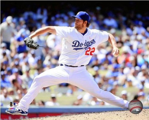 Clayton Kershaw LA Dodgers 2014 MLB Action Photo (Size: 8