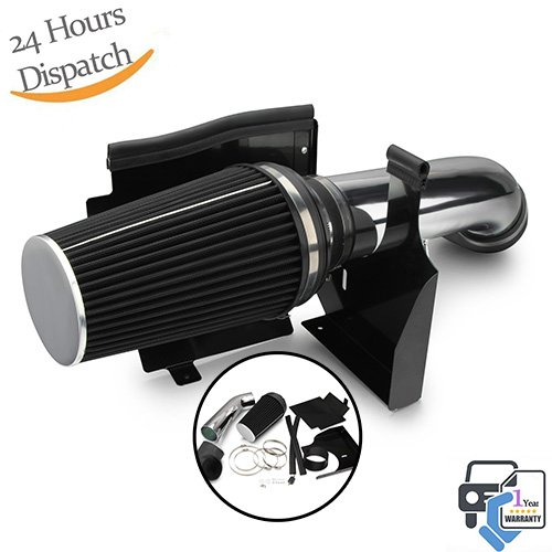 Dromedary Cold Air Intake System w/Heat Shield For GMC Chevy V8 4.8L/5.3L/6.0L 1999-2006 4
