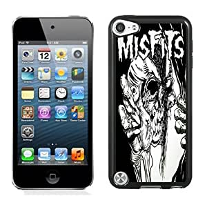 Customized Design Phone Case For iPod Touch 5 Misfits Descending Angel 02 Cell Phone Cover Case for Ipod Touch 5th Generation Black