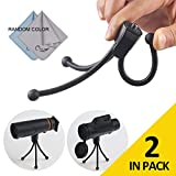 COSTIN Flexible & Soft Tripod Mount, Portable And Adjustable Universal Adapter Stand For Camera, Monoculars and Small Binoculars. Smartphone Holder For Selfie. Up To 1kg. (2.2lbs)