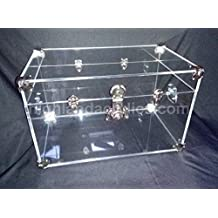 Acrylic Trunk, Coffee Table, Chest
