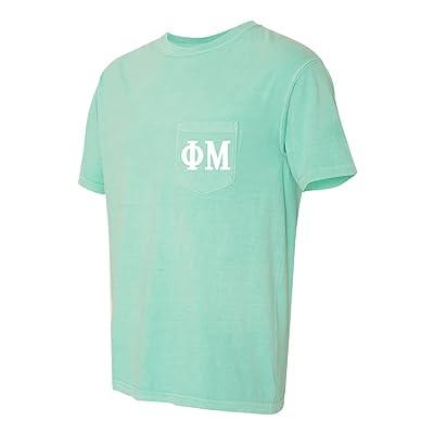 Phi Mu Sorority Comfort Colors Pocket T-Shirt