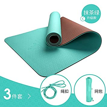 YOOMAT El Principiante Esterilla de Yoga Fitness Mat 3-Pieza ...