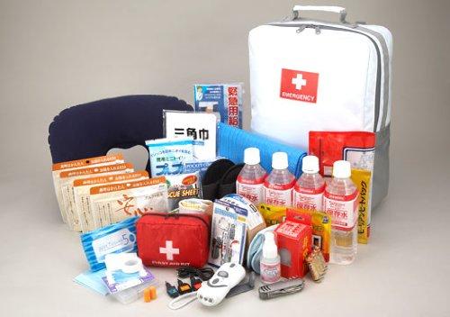 【防災グッズ】地震対策30点避難セット ~避難生活で必要な防災用品をセットした非常持出袋