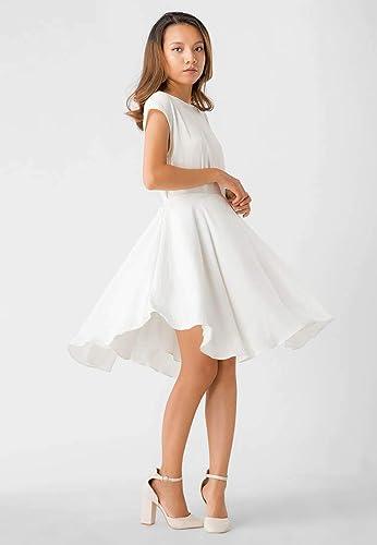 Amazon.com: White Silk Dress - Mini Dress: Handmade