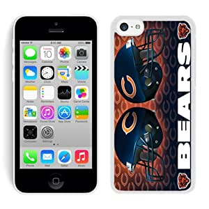 DIY,Personalized iPhone 5C Case Design with chicago bears in White
