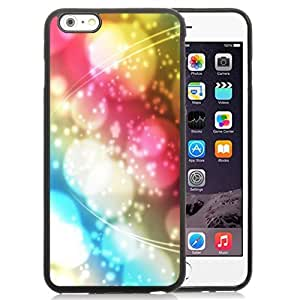New Personalized Custom Designed For iPhone 6 Plus 5.5 Inch Phone Case For Colored Abstract Halos and Lines Phone Case Cover