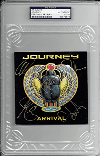 Journey Band Group Signed Autographed CD Book Cain Valory Schon 2 PSA/DNA