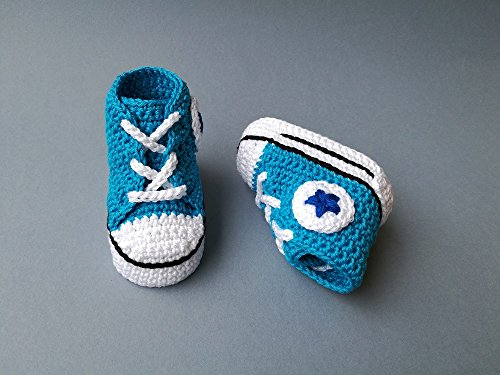 Amazon Crochet Pattern Baby Converse All Star Style Baby