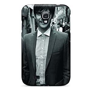Excellent Hard Phone Case For Samsung Galaxy S4 With Custom Realistic Breaking Benjamin Skin AnnaDubois