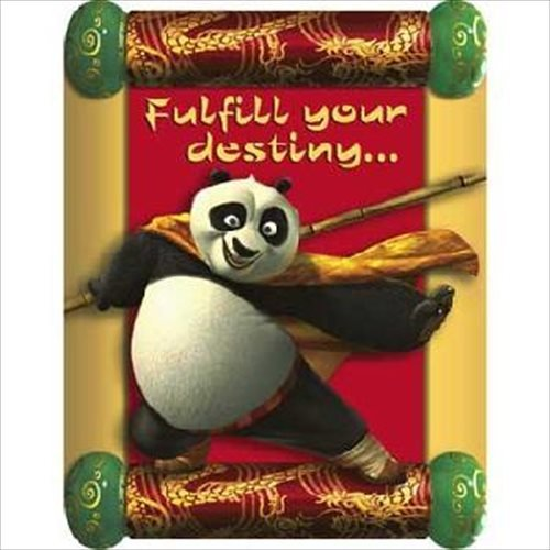 (Kung Fu Panda Invitations w/ Envelopes)
