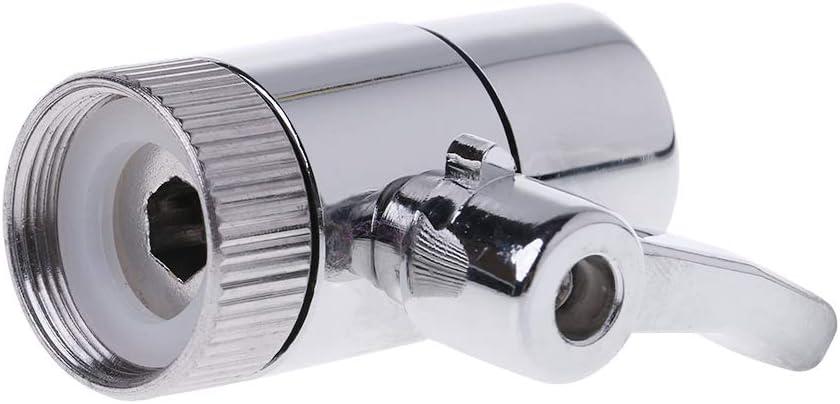 Argent # JOYKK M22 Robinet de Filtre /à Eau inverseur Raccord de Tube 1//4pour syst/ème Ro