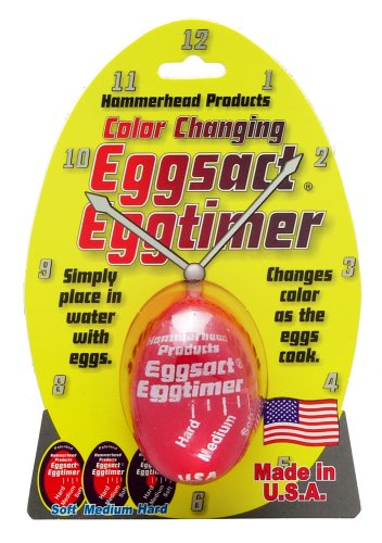 HIC Eggsact Egg Timer, Made in the USA (Changing Egg Timer)