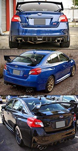 Cuztom Tuning Fits for 2015-2018 Subaru Impreza WRX Sti VA1 VA2 Painted Glossy Black Trunk Spoiler Wing