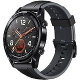 HUAWEI WATCH GT Sport أسود من الفولاذ المقاوم للصدأ جرافيت أسود حزام رياضي V401