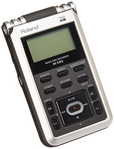- Roland R-05 Studio WAVE/MP3 Recorder