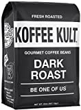 coffee bean bin - Koffee Kult Dark Roast Coffee Beans - Highest Quality Gourmet - Whole Bean Coffee - Fresh Roasted Coffee Beans, 32oz
