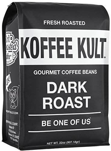Koffee Kult Secret Roast Coffee Beans - Highest Quality Gourmet - Whole Bean Coffee - Fresh Roasted Coffee Beans, 32oz