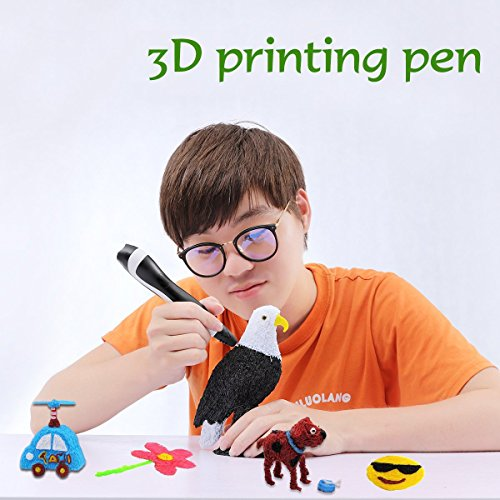 Add Both 3D Pen and 12 Colors 20 Feet PLA Filament to Cart - 2018 Tipeye Newest SmartGear 06A 3D...