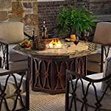 Tommy Bahama Black Sands Gas Outdoor Fire Pit - Frontgate