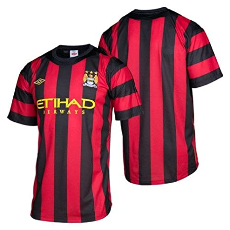 huge selection of f9b74 944d3 Umbro Manchester City Away Jersey 11/12