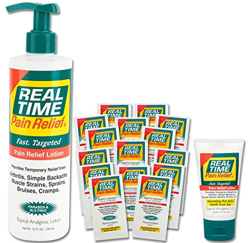 Real Time Pain Relief Pain Relief Cream (Pack)