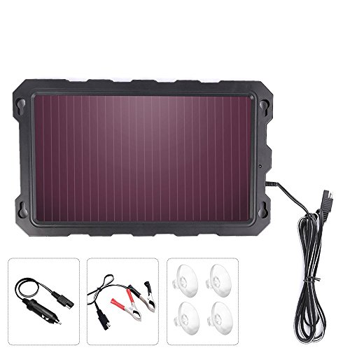 portable solar battery charger rv - 6