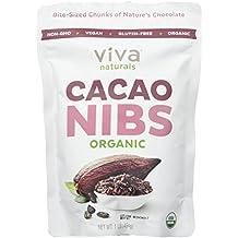 Viva Naturals - Organic Cacao Nibs, 1 lb Bag
