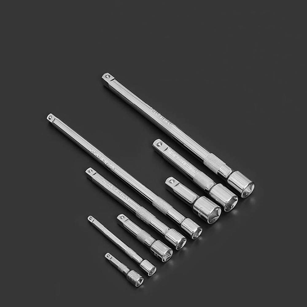"""1/4"""" 3/8"""" 1/2"""" Drive Bar Socket 50-250Mm Plug Removing Drive Tools Adapter Ratchet Wrench Hand Tool 12.5mm-250mm"""
