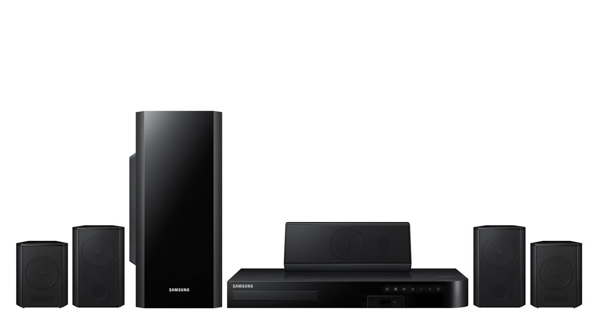 Samsung HT-H5500W 5.1 Channel 3D Blu-Ray Home Theater System (2014 Model) by Samsung
