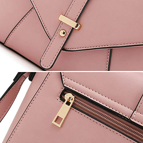 Women Shoulder Body Trendy Ladies Pink Purses for Handbags Bags Bags Designer Cross zfT17yZA