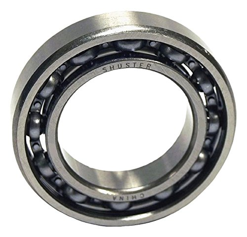 Shuster 6903 Deep Groove Ball Bearing, Single Row, Open, Normal Clearance, ABEC 1 Precision, 30 mm Height, 7 mm Width, 30 mm Length, 17 mm ID, 30 mm OD, High Carbon Chrome Bearing Steel