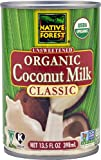 Native Forest Organic Coconut Milk Unsweetened -- 13.5 fl oz