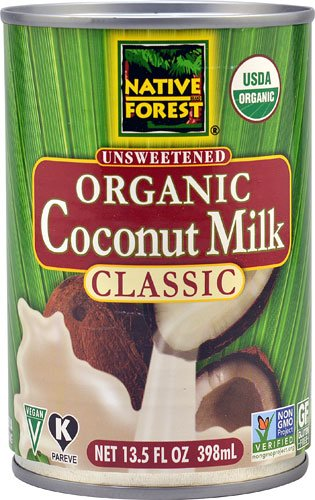 Native Forest Organic Coconut Milk Unsweetened -- 13.5 fl oz - 2 pc