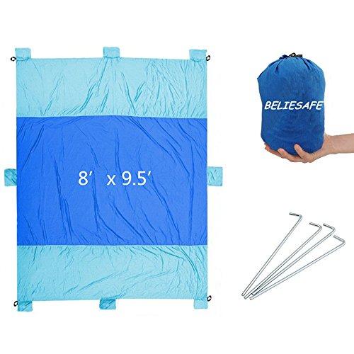 Compact Outdoor Blanket Oversized 9 5 Fast Lightweight