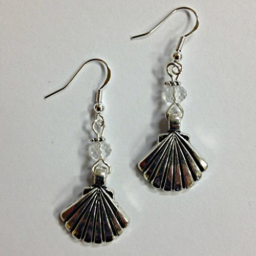 Beads Accent Shell Earrings - 9