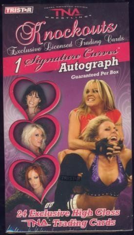 2009 Tristar TNA KNOCKOUTS Wrestling Factory Sealed Box+AUTOGRAPH by Tri-Star by Tri-Star