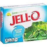 Kraft Jell-O Sugar-Free Gelatin Dessert, Lime, 0.6 Ounce