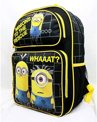 Despicable Me Minions To The Rescue Large 16 Backpack by Bag2School SG/_B01I96UDDA/_US